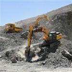 معدن سنگ آهن مگنتیت در یزد