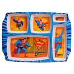 بشقاب کودک مهروز کد 5052 طرح سوپرمن