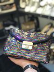 کیف زنانه پولکی رنگی طرح Chanel