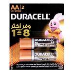 Duracell Duralock AA Battery Pack Of 2
