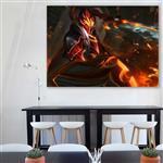 تابلو شاسی گالری استاربوی طرح Dragon Knight مدل Dota 2 کد 063