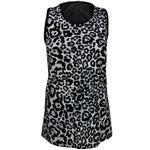 تاپ زنانه مدل Leopard Boom رنگ مشکی