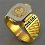 انگشتر اسپرت مردانه طرح DIESEL _کد:16789