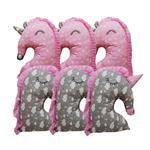 محافظ تخت کودک طرح حیوانات مدل NRG-101 مجموعه 6 عددی