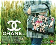 کیف زنانه طرح گل شانل chanel