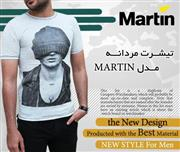 تیشــرت مردانــه مــدل MARTIN