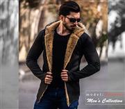 هودی خزدار مردانه  مدل  Valentino(تمام خز)