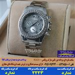 ساعت رولکس مردانه نقره ای دور نگین کد 2223 - ROLEX