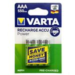 Varta VA-550 Rechargeable AAA Battery Pack of 4