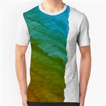 تی شرت گرافیکی رنگارنگارنگ 07