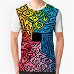 تی شرت گرافیکی چهارفصل