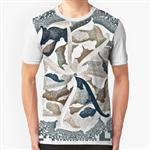 تی شرت گرافیکی گلپیکسکالر