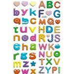 استیکر کودک طرح حروف الفبا مدل alphabet - j042