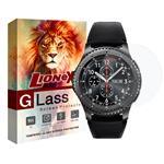 محافظ صفحه نمایش گلس لایونکس مدل UPS مناسب برای ساعت سامسونگ Galaxy Watch 42mm