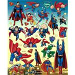 استیکر کودک طرح سوپرمن مدل superman -A 182