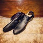 کفش مجلسی چرم طبیعی هورس