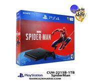 Playstation 4 Slim R2 1TB 2216B SpiderMan Pack کنسول بازی پلی استیشن 4 اسلیم 1 ترابایت 2215B ریجن 1 با بازی   اسپایدرمن