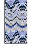 پارچه ملحفه پنبه مالتی فایبرز عرض 200 طرح داریا رنگ آبی طوسی
