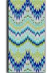 پارچه ملحفه پنبه مالتی فایبرز عرض 200 طرح داریا رنگ سبز