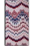 پارچه ملحفه پنبه مالتی فایبرز عرض 200 طرح داریا رنگ قرمز سرمه ای