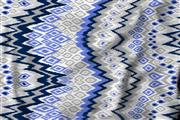 پارچه ملحفه پلی استر ویسکوز عرض 200 طرح داریا رنگ آبی