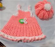 ست لباس نوزاد بافتنی