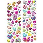 استیکر کودک طرح قلب و عشق مدل love - A023