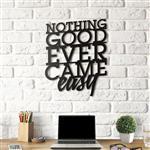 استیکر چوبی هوم لوکس طرح Nothing Good