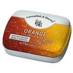 قرص خوشبو کننده دهان کاوندیش و هاروی مدل پرتقال مقدار 14 گرم