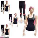 ست تاپ و شلوار ورزشی زنانه مدل آدیداس