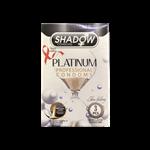 کاندوم شادو مدلPelatinum  بسته 3 عددی