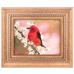تابلو فرش دستباف سی پرشیا طرح پرنده و شکوفه بهاری کد 901682
