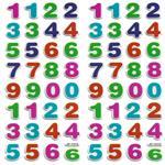 استیکر کودک طرح اعداد مدل JF 1212 بسته 2 عددی