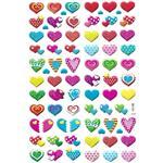 استیکر کودک طرح قلب و عشق مدل H171