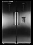 یخچال فریزر دوقلوی دیپوینت مدل D4  سیلور