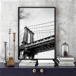 تابلو سالی وود طرح پل منهتن نیویورک مدل T120702