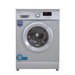 ماشین لباسشویی پاکشوما سفید درب کروم مدل