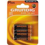Grundig Plus 325mAh AAA Battery Pack Of 4