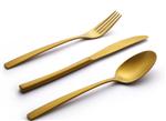 ناب استیل سرویس قاشق و چنگال 158 پارچه طلایی عروس pvd  مدل فلورانس ناب استیل Nab Steel Florence 158 Pcs