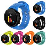 StrapsCo Silicone Rubber Replacement Watch Band Strap Compatible with Suunto Spartan Ultra