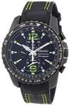 Seiko Men's SNAE97P1 Black PVD Stainless Steel Chronograph Watch
