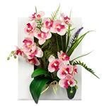 تابلو دکوری گل مصنوعی هومز مدل 50123