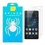 محافظ صفحه نمایش اسپایدر مدل light مناسب برای گوشی موبایل هوآوی P9 lite بسته دو عددی