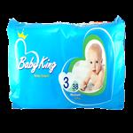 پوشک بی بی کینگ سایز 3 بسته 38 عددی Baby King