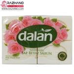 صابون دالان ترکیه رایحه گل رز dalan saf beyaz sabun gul وزن ۶۰۰ گرم