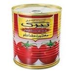 رب گوجه فرنگی تبرک کلیددار800 گرمی (12عددی)
