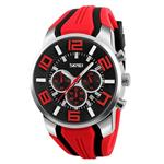 Gets Unique Big Face Sports Watch Silicone Band Sport Outdoor Wristwatches Design Quartz Casual Watches for Men