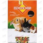 غذای مخلوط خرگوش و خوکچه هندی بدون تخمه برند همسترشاپ