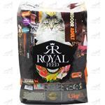 غذای خشک گربه بالغ همه نژاد ها برند Royal Feed