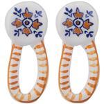 Aseman Ceramic 1773107-MC Earrings For Women